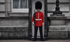 London - Buckingham Palace guard